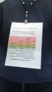 Veldkaart beoordeling grasbekleding op de borst